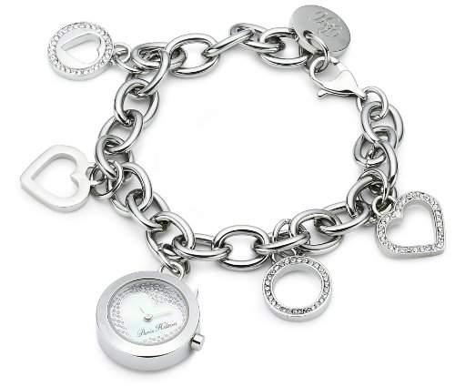 Paris Hilton Damen-Armbanduhr XSTINKERBELL Analog Edelstahl PH13106LS-28M