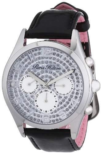 Paris Hilton Damen-Armbanduhr BEVERLY Analog Leder PH13107JS-04A