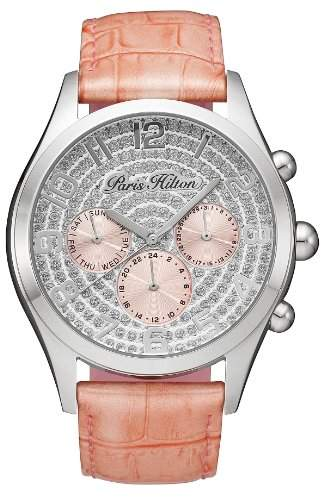 Paris Hilton Damen-Armbanduhr BEVERLY Analog Leder PH13107JS-04B