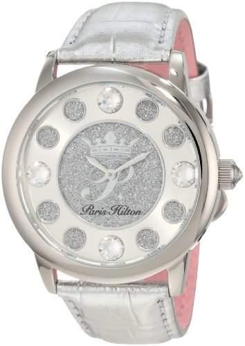 Paris Hilton Damen-Armbanduhr Fame Analog Leder PH13181JS04