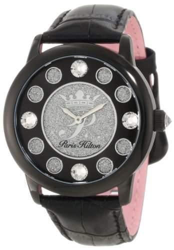 Paris Hilton Damen-Armbanduhr Fame Analog Leder PH13181JSB02A