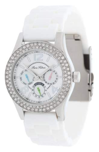 Paris Hilton Damen Armbanduhr weiss PH11687M-RO