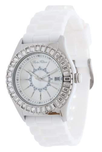 Paris Hilton Damen Armbanduhr weiss PH12009M