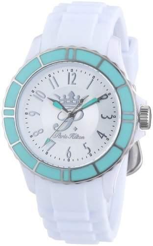 Paris Hilton Damen-Armbanduhr FLIRT Analog Plastik PH13525JPWHS-04A