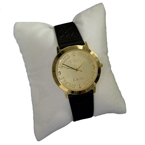 cc133g vergoldet Man s Celtic Armbanduhr durch Cairn mit Champagner Zifferblatt