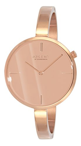 Axcent of Scandinavia Damen Armbanduhr Charm Analog Quarz Rosa IX2730R 052