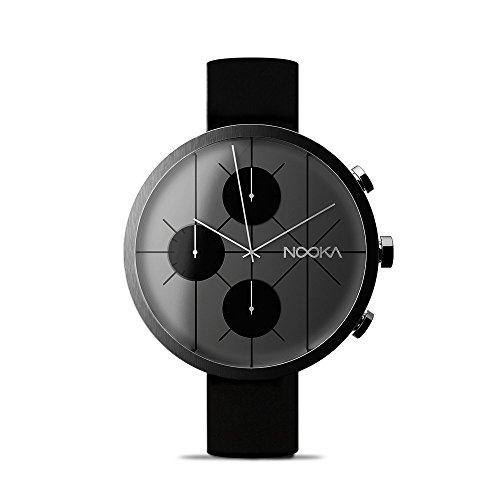 NOOKA NOOKRONO Steel Chronograph Silikonband 48mm Big Watch