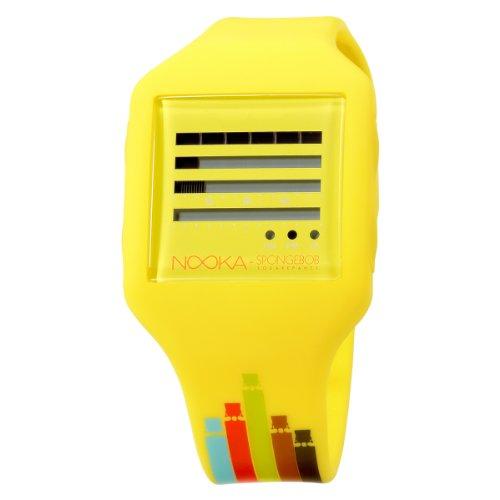 Nooka Unisex SB ZUB ZENH 20 SE SpongeBob Zub ZenH Spongelevator Uhr