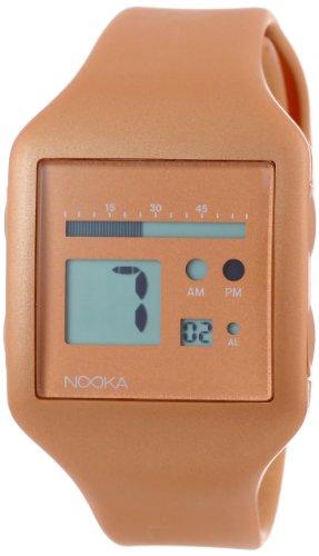 Nooka Unisex ZUB ZOO BZ 20 Zub Zoo Bronze Polyurethan Uhr