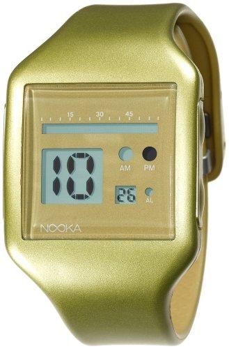 Nooka Unisex ZUB ZOO GD 20 Zub Zoo Gold Polyurethan Uhr