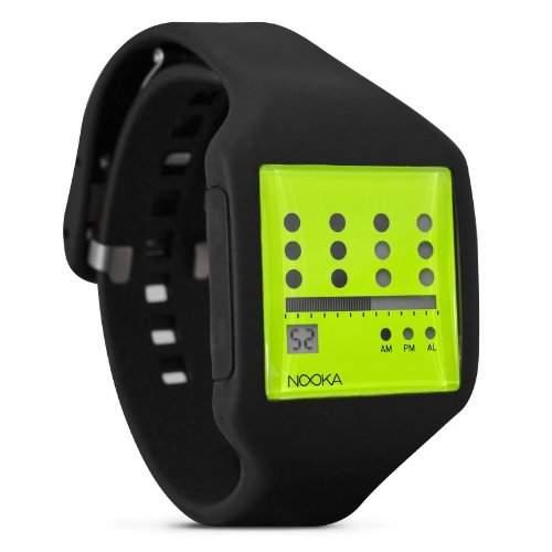 Nooka Unisex-Armbanduhr Edelstahl smccanzubzot