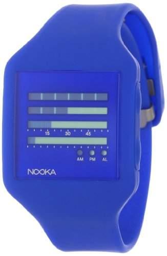 Nooka Unisex-Armbanduhr Edelstahl ZUB ZENH DB 20