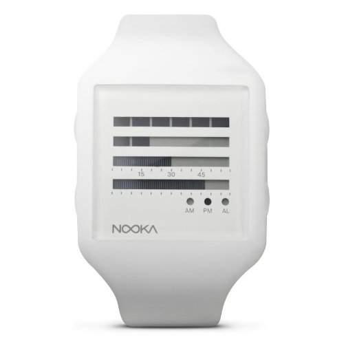 Nooka Unisex-Armbanduhr Chronograph Plastik ZUB ZENH WT 20