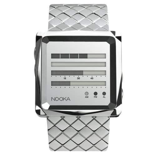 Nooka Unisex-Armbanduhr Edelstahl ZEMZENHMRS