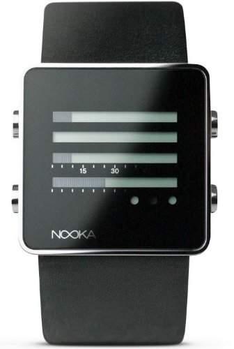 Nooka Unisex-Armbanduhr Edelstahl ZENHBK