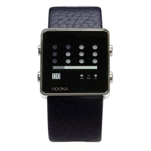 Nooka Unisex-Armbanduhr Edelstahl ZOTBK