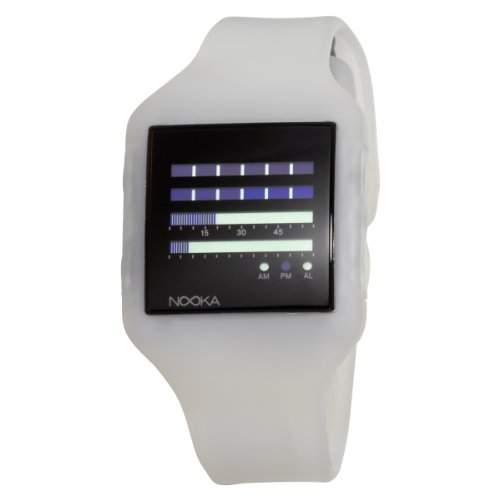 Nooka Unisex-Armbanduhr Edelstahl ZUB ZENH CL 20
