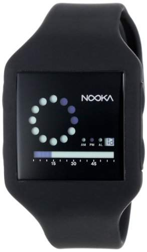 Nooka Unisex-Armbanduhr Digital ZUB ZIRC BK 20