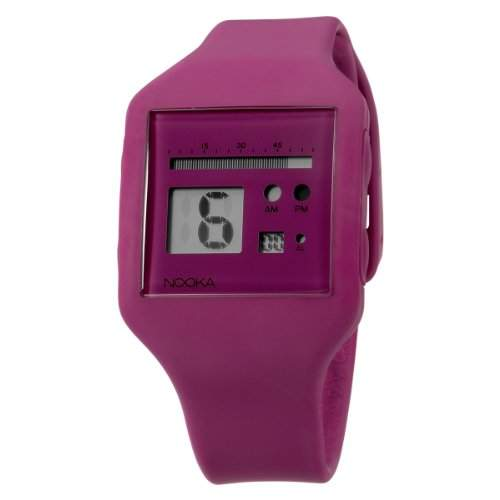 Nooka Unisex-Armbanduhr Edelstahl ZUB ZOO RB 20