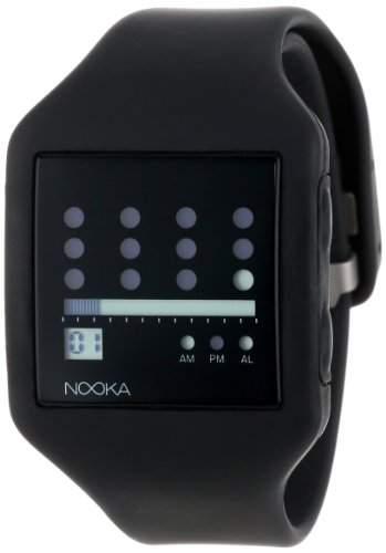 Nooka Unisex-Armbanduhr Digital ZUB ZOT BK 20