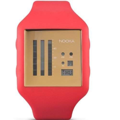 Nooka Unisex-Armbanduhr Edelstahl ZUBZENVFG20