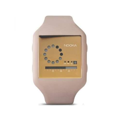 Nooka Unisex-Armbanduhr Edelstahl ZUBZIRCNK20