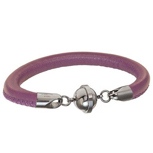 Armband mit einem Magnetverschluss Saturn lila