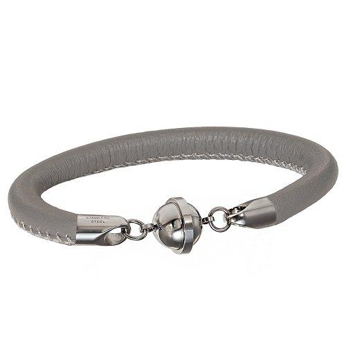 Armband mit einem Magnetverschluss Saturn grau