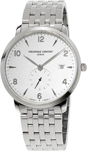 Frederique Constant Geneve Slimline FC 245SA5S6B Elegante Herrenuhr Besonders Flach
