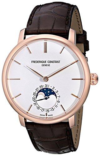 Frederique Constant Slim Line Herren 42mm Automatikwerk Datum Uhr FC 705V4S4