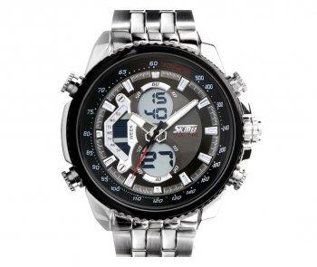 DESIGN FREUNDE Uhr Armbanduhr Herrenarmbanduhr Stoppuhr wasserfest Herrrenuhr von SKMEI aktuelles Modell
