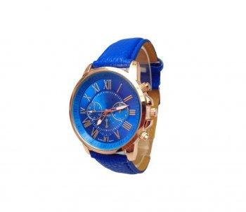 DESIGN FREUNDE Uhr Damenschmuck Schmuck Armschmuck Armreifen Schmuckset Watch Accessoires Armbanduhr Blue Bird