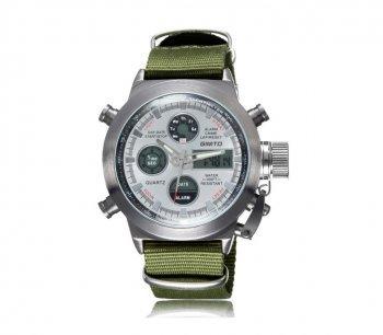 DESIGN FREUNDE Uhr Herrenschmuck Schmuck Armschmuck Armreifen Schmuckset Watch Accessoires Armbanduhr Herrrenuhr von GIMTO