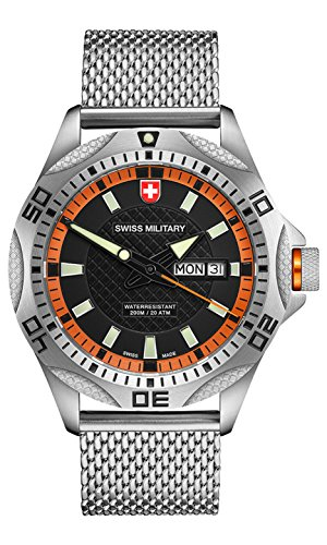 CX SWISS MILITARY WATCH TANK Referenz 2738 Swiss Made 20ATM Milanese 148 gr