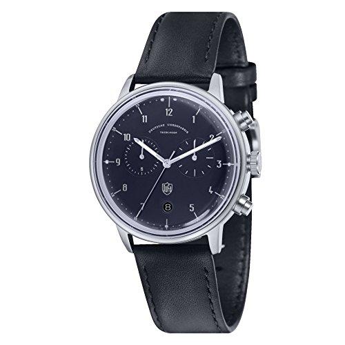 Dufa Deutsche Uhrenfabrik Unisex Armbanduhr Hannes Chrono DF 9003 03 Quartz