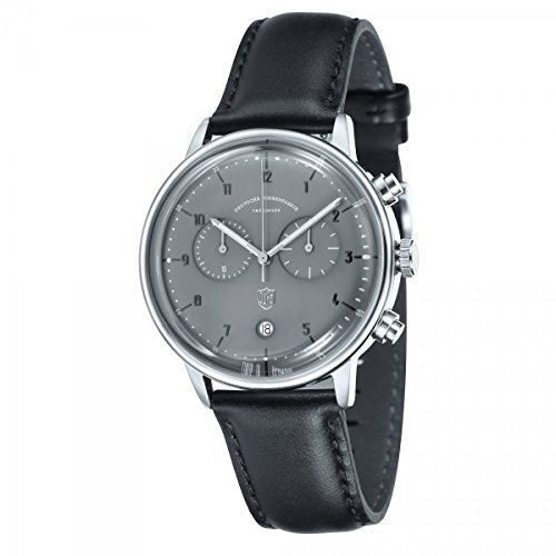 Dufa Deutsche Uhrenfabrik Unisex Armbanduhr Hannes Chrono DF 9003 08 Quartz