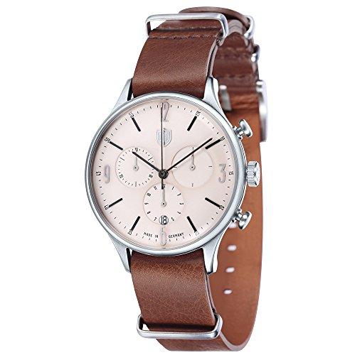 Dufa Deutsche Uhrenfabrik Unisex Armbanduhr Van Der Rohe Chrono DF 9002 06 Quartz