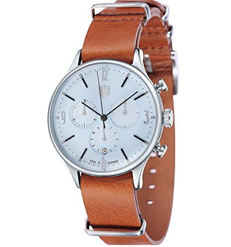 Dufa Deutsche Uhrenfabrik Unisex Armbanduhr Van Der Rohe Chrono DF 9002 07 Quartz