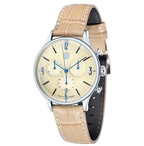 Dufa Deutsche Uhrenfabrik Unisex Armbanduhr Van Der Rohe Chrono DF 9002 08 Quartz