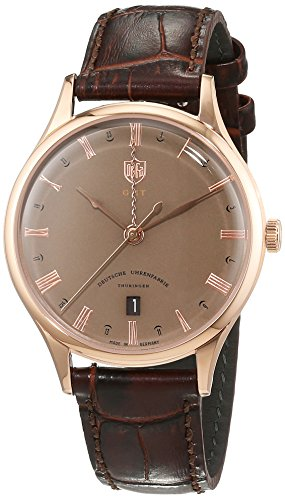 Dufa Deutsche Uhrenfabrik Unisex Armbanduhr Weimar GMT DF 9006 09 Schweizer Quartz