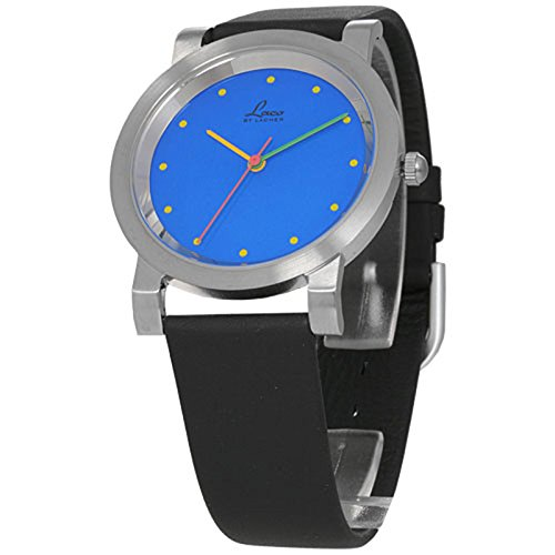 LACO Colour blue Herrenarmbanduhr