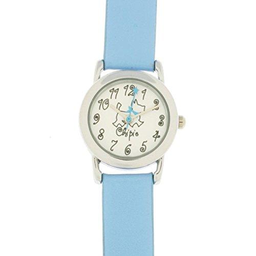 Chiemsee 5210301 Maedchen Armbanduhr Lederband blau