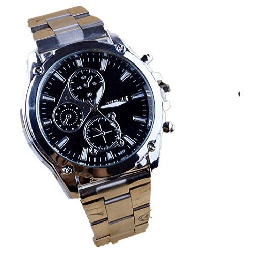 Herren Quarzuhr Kingko TM 45mm Edelstahl Zifferblatt Legierung Band beilaeufige Uhr