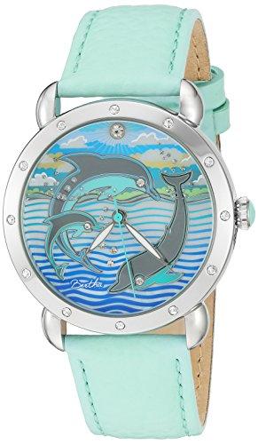 Bertha Armbanduhr Analog Quarz BTHBR5101 turquoise