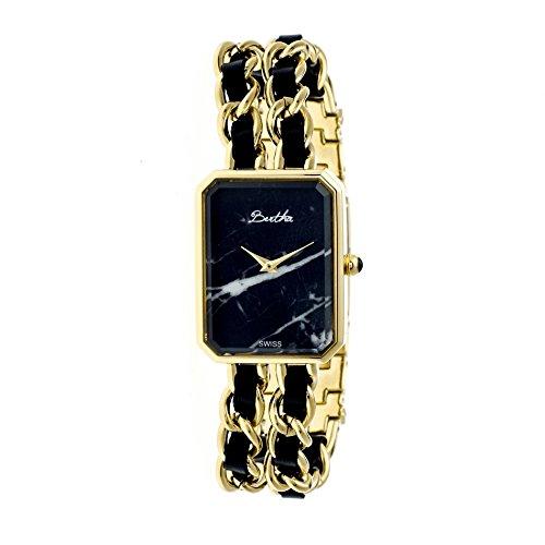 Bertha Armbanduhr Analog Schweizer Quarz Edelstahl BTHBR5904 gold