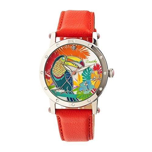 Bertha Uhren Gisele Armbanduhr orange