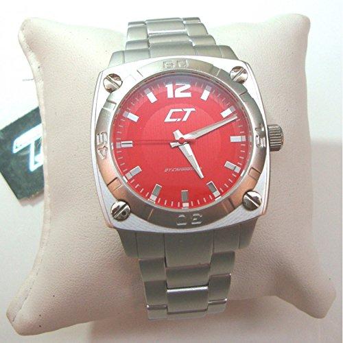 Chronotech Herren Uhr nur Zeit CHRONOTECH in Aluminium