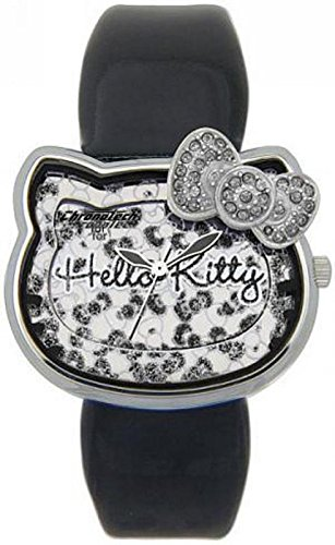 CT 7125l 06 CHRONOTECH Uhr Hello Kitty schwarz Selbstverstaendlichkeit des 20