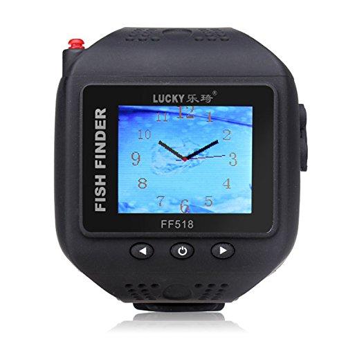 Armbanduhr Typ Fisch Sucher Farbbildschirm Wireless Gitter Fisch Sucher