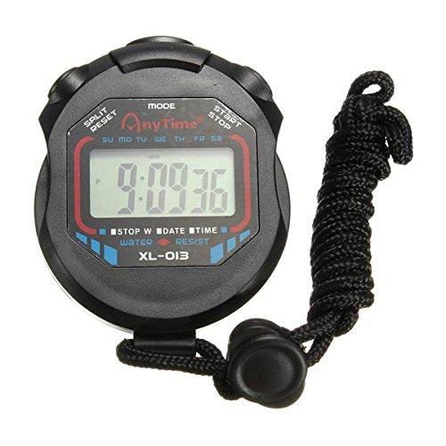 Wasserdichte Digital Chronograph Timer Stoppuhr Z hler Sport Uhr